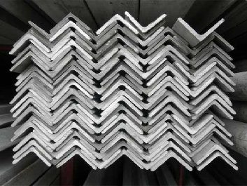 MS Angles are L-shaped structural steel represented by dimension of sides & thickness